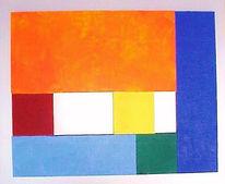 Colourfield, Malerei, Fundstücke, Farbfeldmalerei
