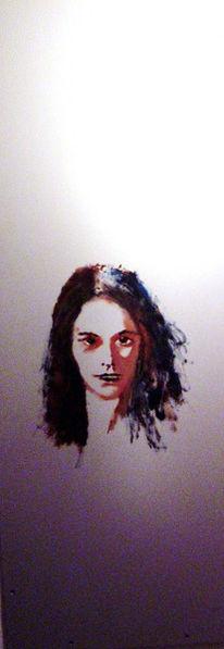 Portrait, Meister, Gemälde, Frau