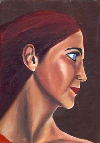 Portrait, Realismus, Junge, Meister
