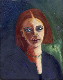 Meister, Gesicht, Gemälde, Frau