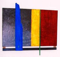 Fundstück, Malerei, Farbfeldmalerei, Colourfield