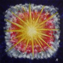 Malerei, Abstrakt, Stern