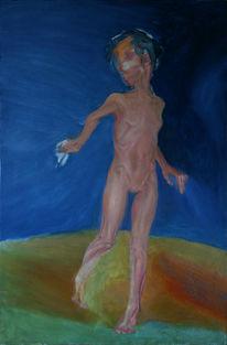 Malerei, Figural, Kind, Figurativ