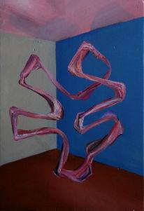 Malerei, Figur, Surreal, Figural