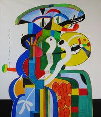Symbolisch, Malerei, Figurativ, Grafik