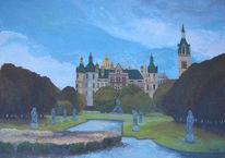 Schwerin, Malerei, Schloss, Ölmalerei