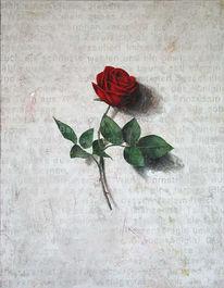Rose, Lauterjung, Malerei, Einzelausstellung