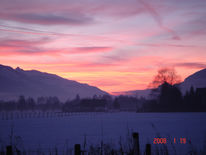 Fotografie, Horizont, Schnee