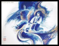 See, Blau, Welle, Meer