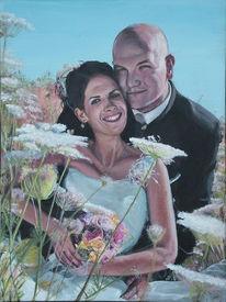 Hochzeit, Portrait, Malerei