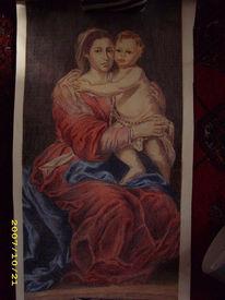 Zeichnungen, Portrait, Madonna