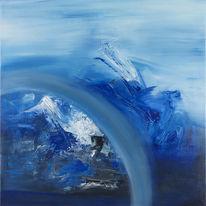 Wittyline, Acrylmalerei, Malerei, Abstrakt