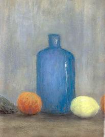 Stillleben, Malerei, Flasche