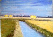 Sommer, Holland, Licht, Malerei