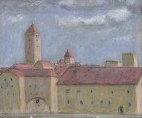 Malerei, Landschaft, Regensburg