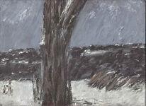 Landschaft, Malerei, Winter