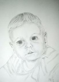 Baby bleistift zeichnung, Zeichnungen, Portrait