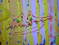 Kuss hochzeit, Malerei, Abstrakt, Kuss