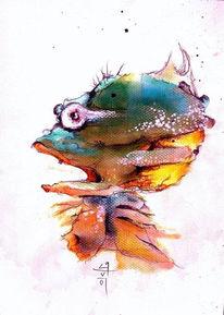 Zeichnungen, Fisch
