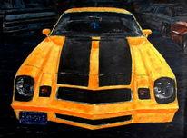 Chevrolet, Auto, Oldtimer, Gelb