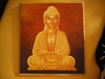 Braun, Harmonie, Ruhe, Buddha