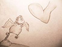 Zeichnung, Skizze, Comic, Cartoon