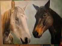 Figural, Malerei, Pferde
