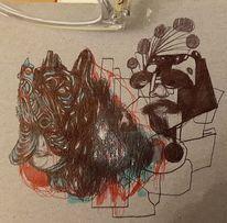 Zeichnungen, Augen,