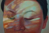Portrait, Figural, Malerei, Leben