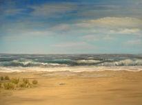 Realismus, Malerei, Küste, Strand