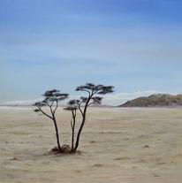 Realismus, Malerei, Landschaft, Wüste