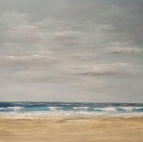Brandung, Wasser, Ruhe, Sand