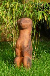 Holz, Skulptur, Erdmännchen