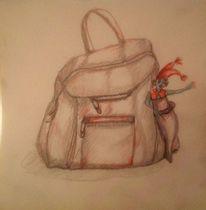 Rucksack, Kobold, Zeichnungen