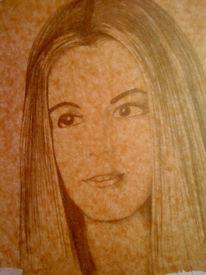 Bleistiftzeichnung, Portrait, Realismus, Zeichnung