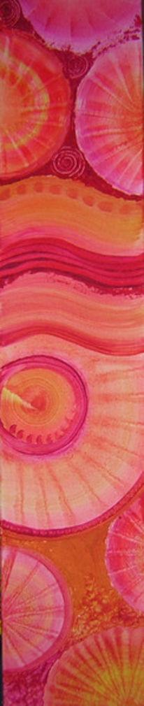 Kreis, Malerei, Pink, Retearder