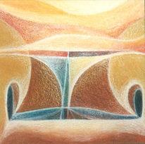 Malerei, Abstrakt, Erde