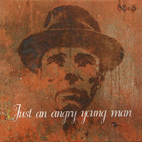 Beuys, Malerei, Portrait,