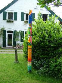 Malen, Farben, Abstrakt, Plastik