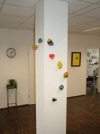 Plastik, Installation, Abstrakt, Farben