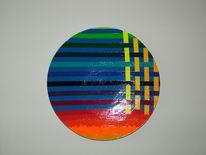Farben, Holz, Abstrakt, Bunt
