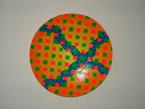 Farben, Freundlich, Plastik, Geometrisch
