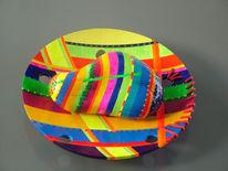 Plastik, Teller, Bunt, Farben