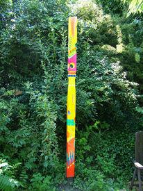 Farben, Skulptur, Holz, Formen