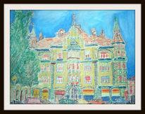 Pastellmalerei, Zeichenkarton, Zeichnung, Zeichnungen