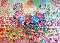 Clown, Umwelt, Malerei,
