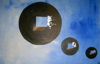 Himmel, Abstrakt, Kreis, Malerei