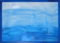 See, Seglen, Meer, Wasser