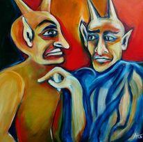 Beziehung, Lehrer, Freunde, Teufel