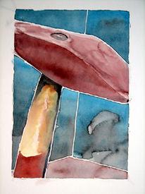 Aquarellmalerei, Hammer, Malerei
